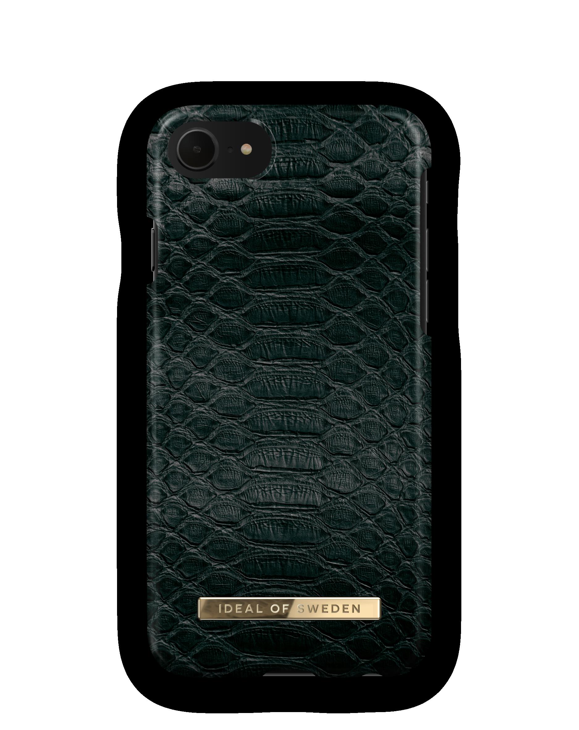 Fashion Case iPhone 8/7/6/6S Black Reptile